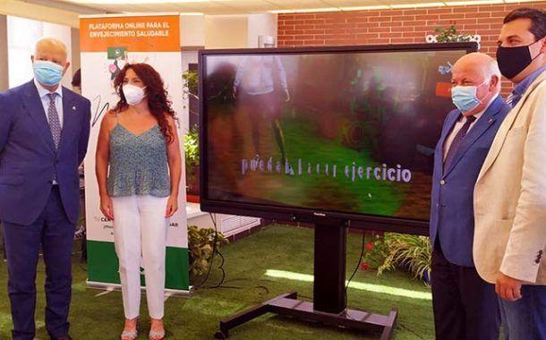 Andalucía Muévete es la plataforma online para el envejecimiento saludable