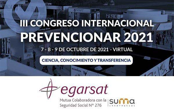 Egarsat se suma al III Congreso Internacional Prevencionar