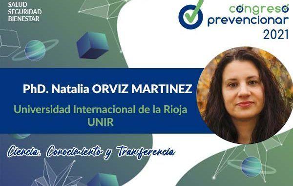 Entrevista Natalia Orviz con motivo del III Congreso Internacional Prevencionar