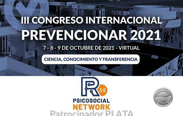 R3.0 Piscosocial Network  se convierte en patrocinador PLATA del Congreso Internacional Prevencionar 2021
