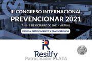 Resilfy se convierte en patrocinador PLATA del Congreso Internacional Prevencionar 2021