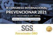 SGS se convierte en patrocinador ORO del Congreso Internacional Prevencionar 2021