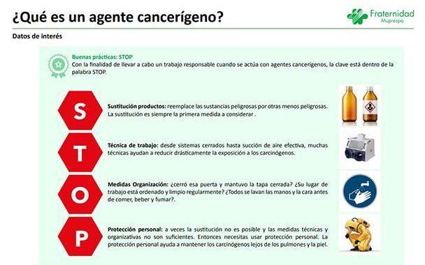Guía de buenas prácticas para evitar el riesgo de exposición a agentes cancerígenos