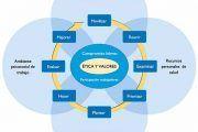 El modelo de la OMS de ambientes de trabajo saludables