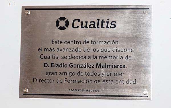 Acto homenaje de Cualtis a la memoria de su primer director de formación, Eladio González Malmierca