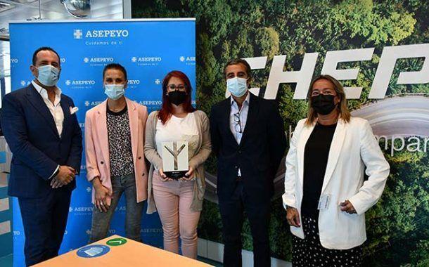 Asepeyo entrega el galardón a CHEP España por su primer premio en la IX Edición de los Premios Asepeyo