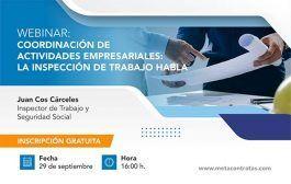 Coordinación de Actividades Empresariales: La Inspección de trabajo habla #webinar