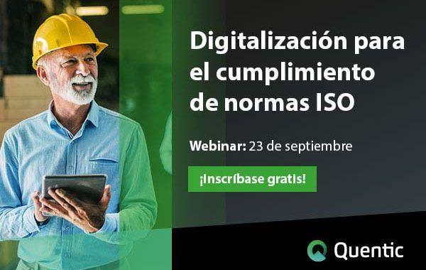 Digitalización para el cumplimiento de normas ISO