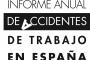 Informe anual de accidentes de trabajo en España 2020