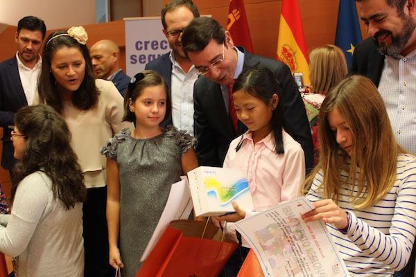 Murcia introduce a más de 10.000 escolares en la cultura de la prevención de riesgos laborales