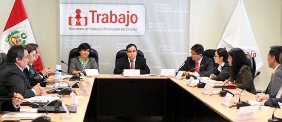 Reactivan el Consejo Nacional de Seguridad y Salud en el Trabajo de #Perú
